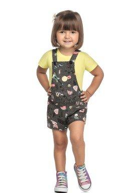 conjunto blusa e jardineira infantil feminino yes amarelo elian 231494 1