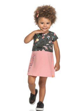 vestido cotton infantil feminino peace mescla elian 231493 1
