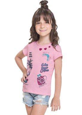 blusa meia malha infantil juvenil feminina tropical girl rosa alenice 47248 1