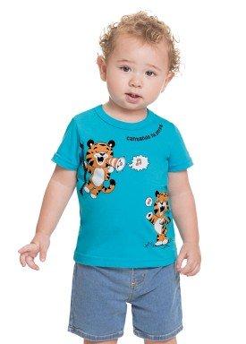 camiseta meia malha bebe masculina selva azul alenice 41208 1