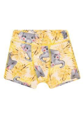 cueca boxer infantil masculina efefantinho amarelo upman mini 367c5