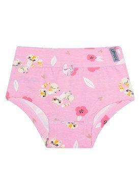 calcinha infantil feminina gatinhos rosa upman mini 464c5