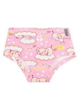 calcinha infantil feminina soninho rosa upman mini 464c5