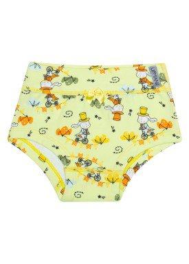 calcinha infantil feminina pais maravilhas amarelo upman mini 464c5