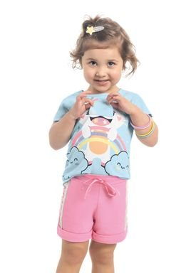 blusa meia malha infantil feminina cute cat azul kamylus 10347 1